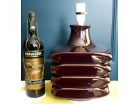 Vintage Cari Zalloni 60's Facette Table Lamp Base Steuler W Germany