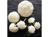 Made to order artificial wedding bouquets