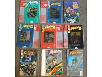 9x Vintage DC comics 20+ years old