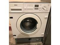 BOSCH CLASSIXX INTEGRATOR WASHING MACHINE 3 MONTH WARRANTY, FREE INSTALLATION