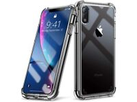Gorilla Hard Case Clear Transparent Silicone Phone Cover For Apple iPhone X XS