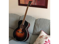 Hudson acoustic guitar with hard case * BARGAIN PRICE for quick sale