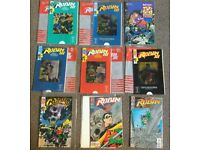 9x vintage DC comics collectors editions 20+ years old
