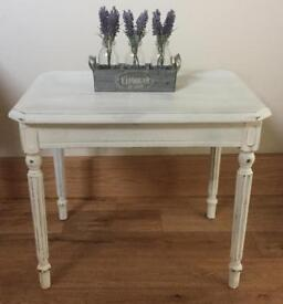 Lovely shabby chic vintage side table