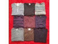 Selection of men's jumpers XL and a couple of XXL