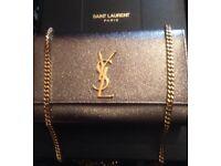 Ysl black handbag