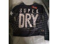 Ladies Superdry Vintage long sleeved top, size XS, (RRP £34.99) £10