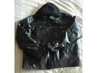 Selection of leather jackets used and new