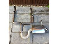 VW T25 2.0 aircooled exhaust