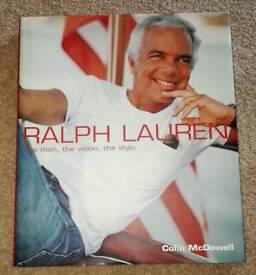 Superb Large Hardback Book Ralph Lauren
