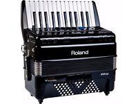 Roland digital accordion 72 bass 1200£
