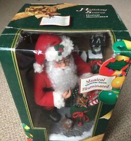Musical Santa & Musical Tree