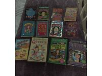 Collection of 12 Girls Jaqueline Wilson books