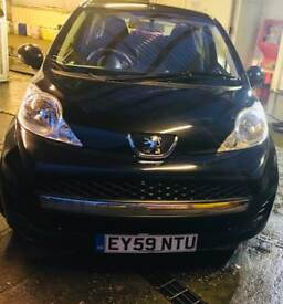 2009 PEUGEOT 107 URBAN, automatic, 33000miles only