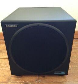 Samson Resolv 120a Active Subwoofer Speaker, boxed