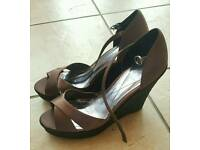 Monsoon ladies shoes size 7 (40)
