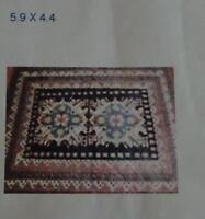 4 RARE TRIBAL CARPETS FROM IRAN & TURKEY THESE ARE ONE OF A KIND
