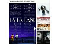 Odeon cineworld cinema tickets 50 shades darker