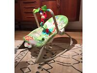 Fischer Price Rainforest Infant Toddler Baby Rocker Chair