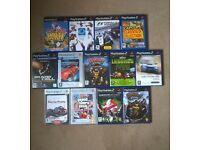 Sony PS2 and 13 Games