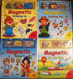 Magnetic books £1 - £2.50 each