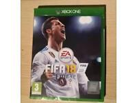 NEW FIFA 18 XBOX ONE