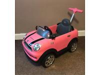 Ride on Mini Cooper