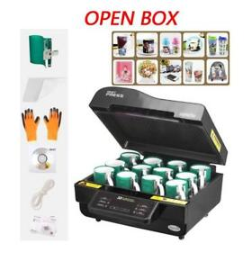 1set 110V Open box 3D Vacuum Sublimation Mug Heat Press Transfer Machine