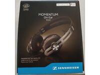 Sennheiser Momentum On-Ear I Brown (M2) iPhone compatible NEW