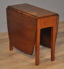Attractive Small Vintage Sutherland Mahogany Drop Leaf Extending Side Table