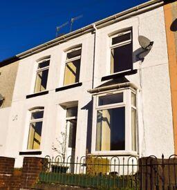 FOR RENT! Fantastic 3-bedroom house on St Albans Terrace, Treherbert. £495 PCM.