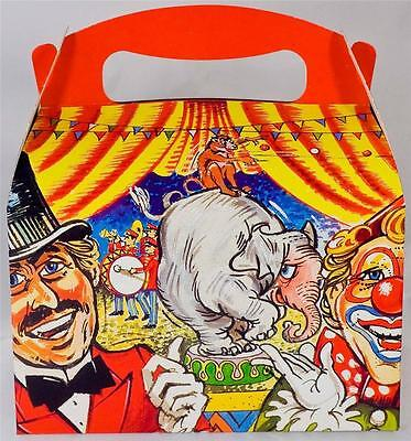 Circus Themed Party ('CIRCUS' THEMED CHILDRENS BIRTHDAY PARTY LUNCH BOX (FROM 35P) GREATEST)