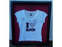 Jennifer Saunders signed shirt