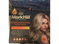 Mark Hill interchangeable curling wand set for waves and curls hair styling