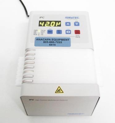 Ismatec Ism936d Ipc High Precision Peristaltic Pump 8 Channel Dispenser 6415