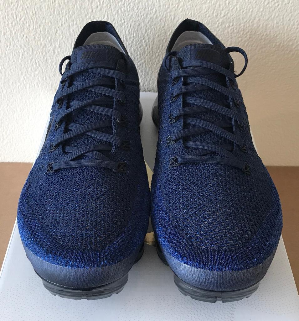 83ec0d4b8c924 ... denmark nike air vapormax flyknit day to night navy blue black uk 10  849558 ac7d5 3dc21