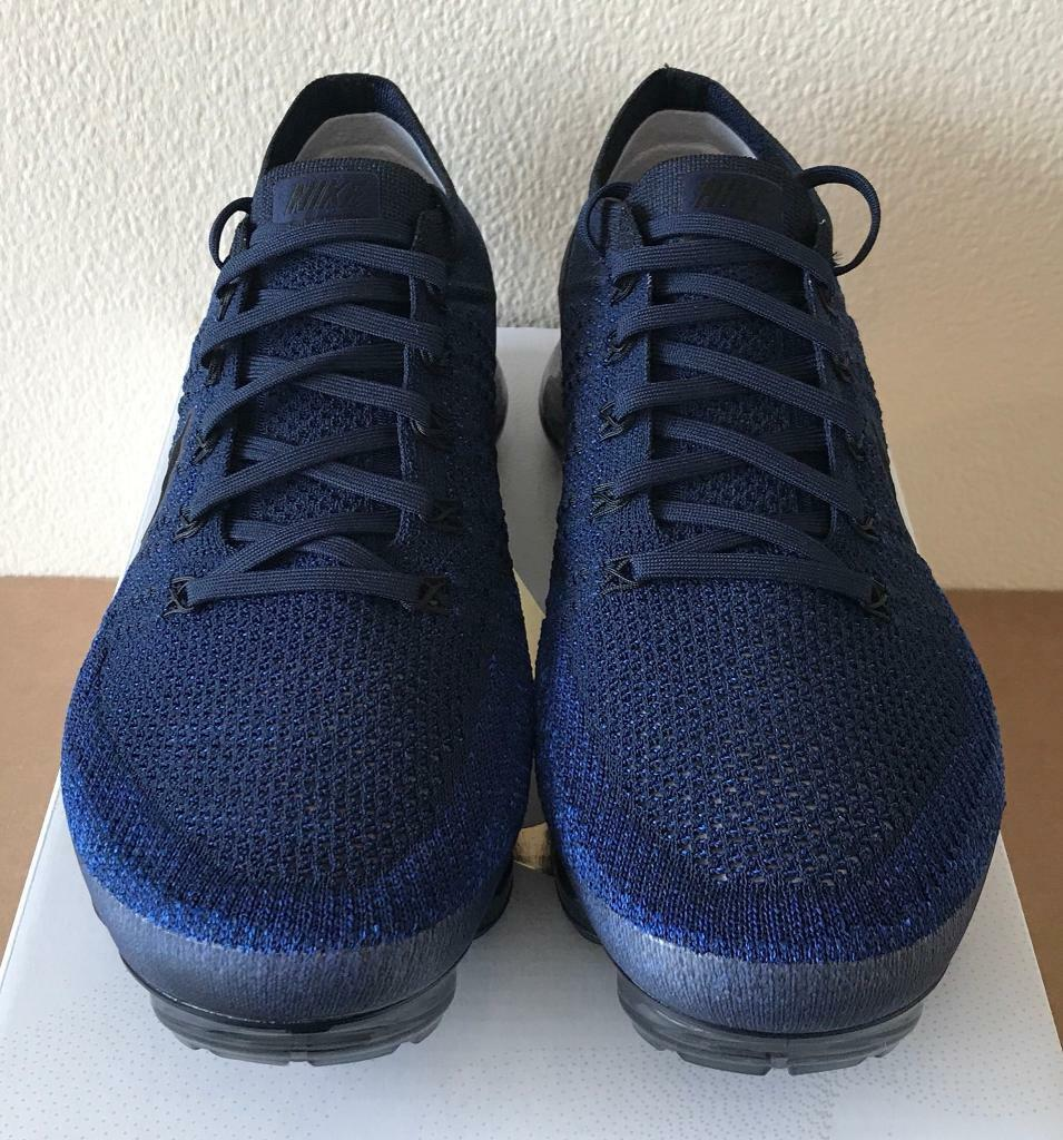74f7f4eae423 Nike Air Vapormax Flyknit  Day to Night  Navy Blue Black UK 10 - 849558 400