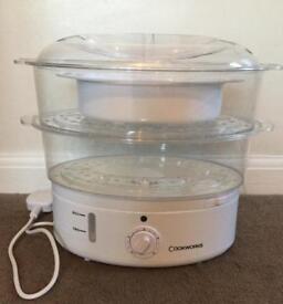 Cookworks 2 tier steamer