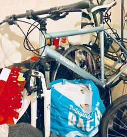 Btwin 21 inch hybrid bicycle frame for sale or swap for a laptop