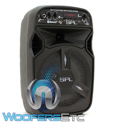 SPL SP603 PORTABLE BLUETOOTH USB FM RADIO DJ 3000W AMPLIFIER SPEAKER TWEETER NEW