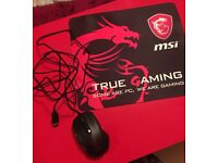 Selling MSI Gaming G Mouse Wirred with MSI Mouse Pad