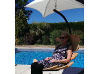 Hanging hammock chairand Stand GET IT FOR THE BANK HOLIDAY! Garden furniture
