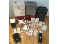 DJI Phantom 4 FULLY BOXED and Many accessories. Like new