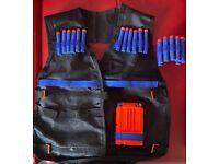 Tactical Vest fit for Nerf guns N-Strike Elite series camouflage Best safety