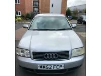 2003-52 Audi A6 1.9 TDi Se 130BHP (Spare or Repair)