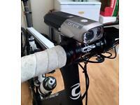 Cateye Volt 1200 front bike light