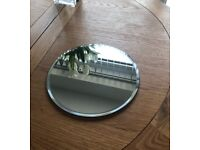 4 Wedding Mirror Plates Decorations Centre pieces