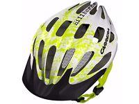 Carrera Hillbourne 2 MTB Bike Helmet with Rear LED Light RRP £49.95 *not used*