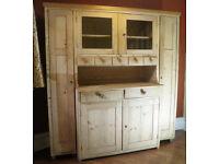 Genuine Antique Old Pine Dresser