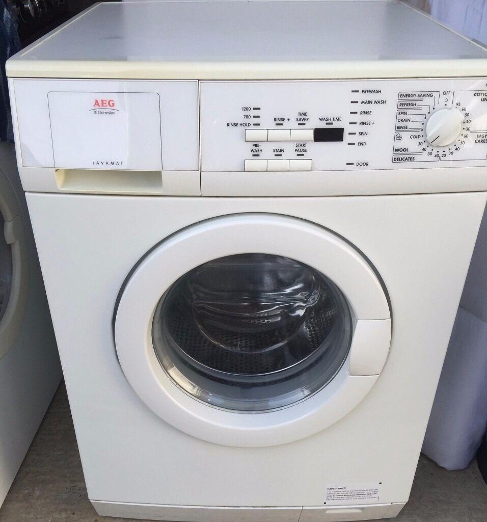 aeg lavamat washing machine model 62825 in bognor regis. Black Bedroom Furniture Sets. Home Design Ideas